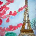 Eiffel tower - montmartre - notre dame