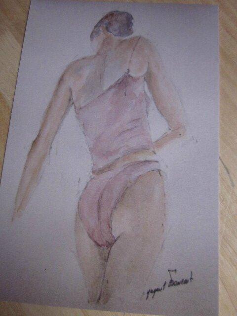 """Carte postale """"La Danseuse"""""""