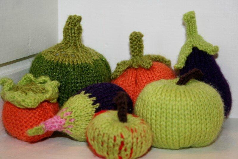 Fruits et légumes tricot 3