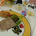 Roi Kysmar, terrine de foie gras. Mars 2014.