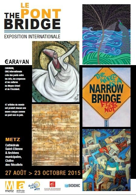 Expo The Bridge, Le Pont visuel metz 2015