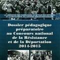 Dossier pédagogique préparatoire au cnrd 2014-2015