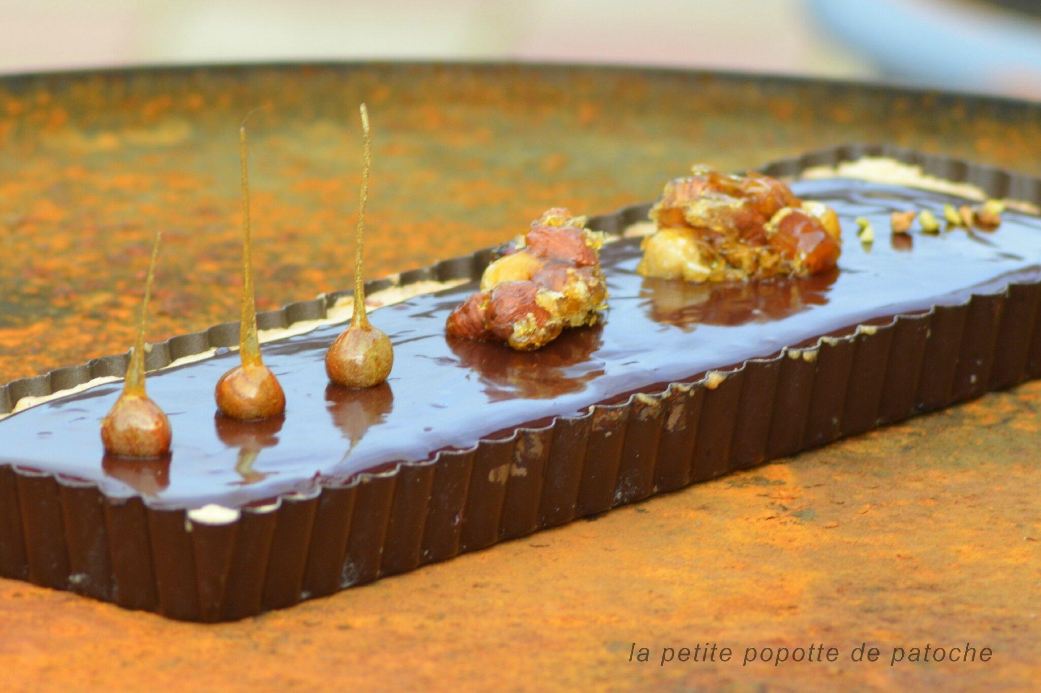 Tarte chocolat noisette thermomix