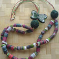 collier multicolor