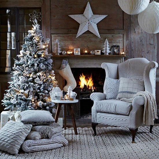Christmas-living-room-with-knitted-chair-cover--Country-Homes--Interiors--Housetohome