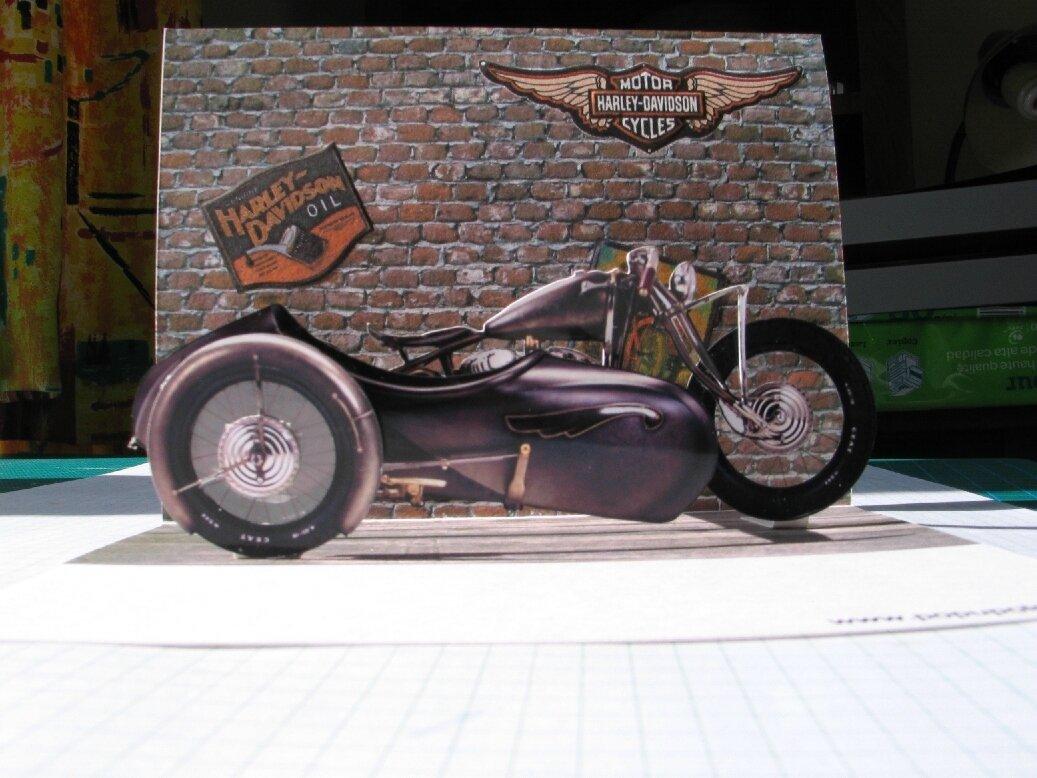Harley Davidson side Stoye