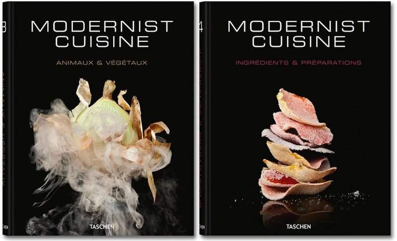 Modernist cuisine art science culinaires nathan for Taschen cuisine