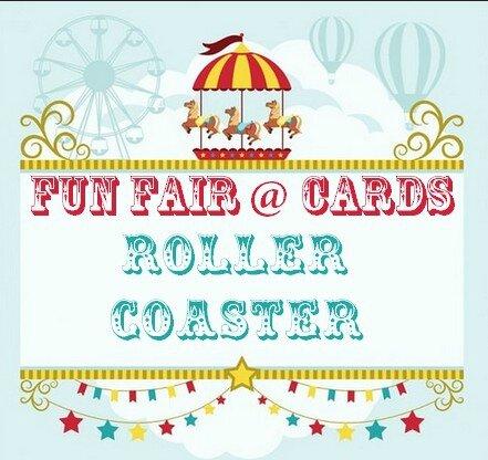 encart Fun fair roller coaster