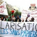 2005 - Manif syndicale contre le pacte de generation