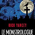 Le monstrologue de rick yancey