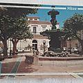 Mèze - place de la mairie