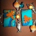 Klimt II poisson bracelet détail