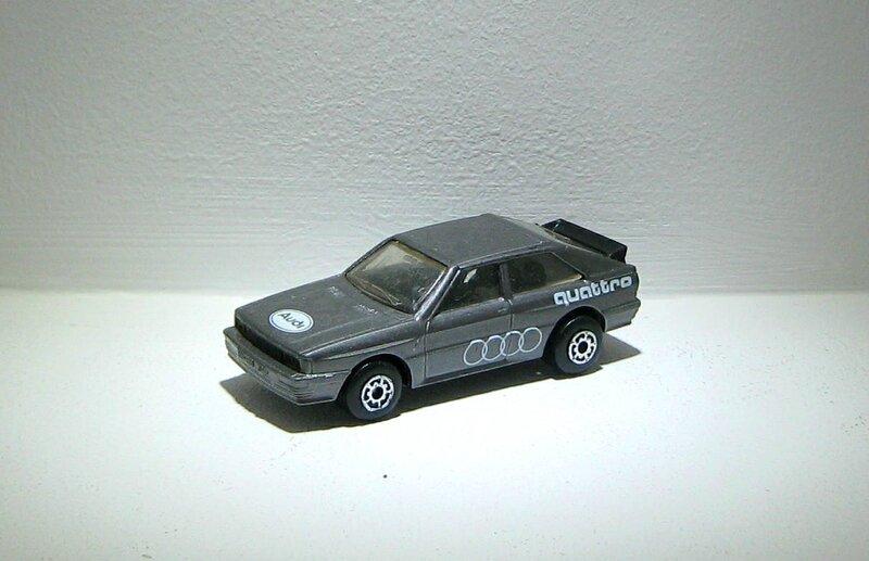 Audi quattro (Matchbox)