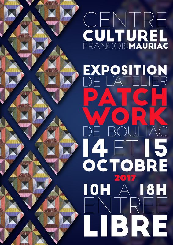 AFFICHE expo 2017 PATCH BOULIAC