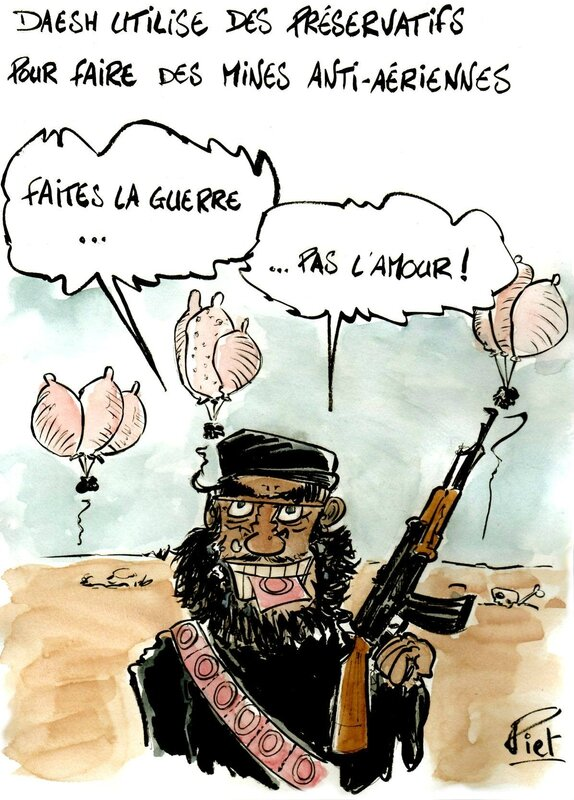 Daesh capotes