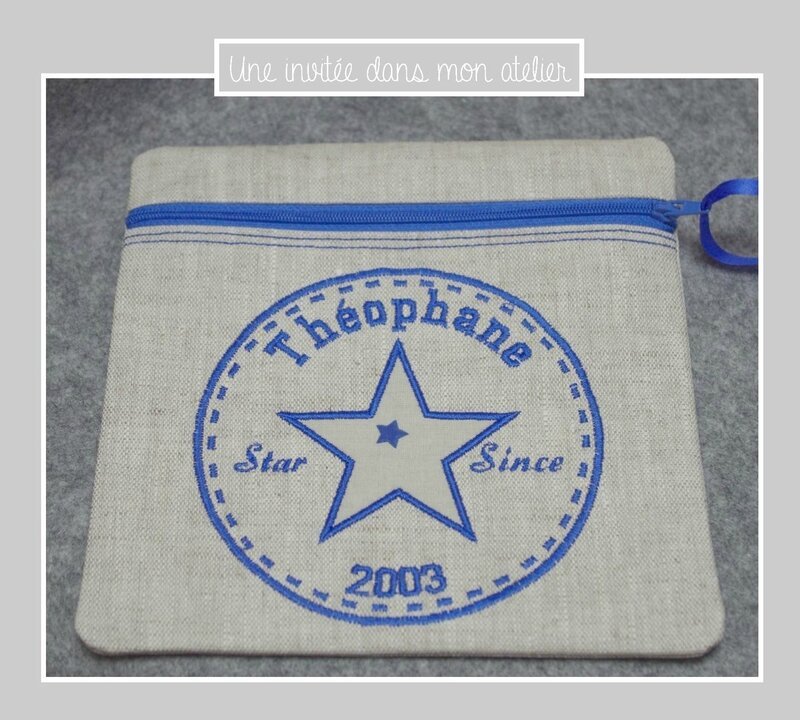 trousse carrée-star since