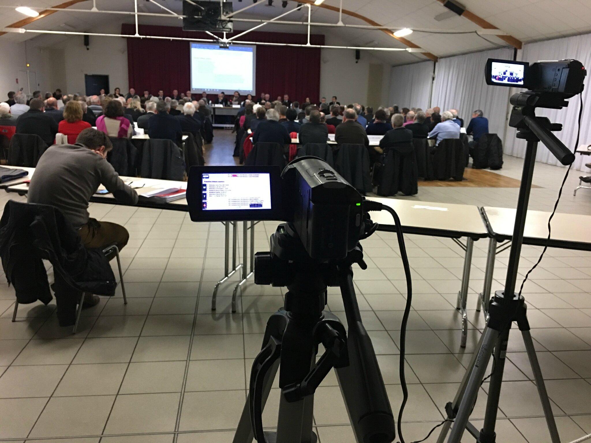 conseil de communauté d'agglomération Mont-Saint-Michel Normandie • lundi 30 janvier 2017 • compte-rendu vidéos, tweets
