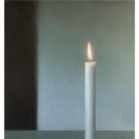 Gerhard Richter ,Candle ,1980