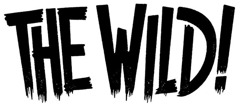THE WILD! logo print