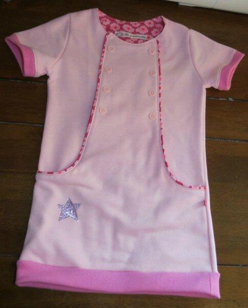 Tunique/robe en moleton #2