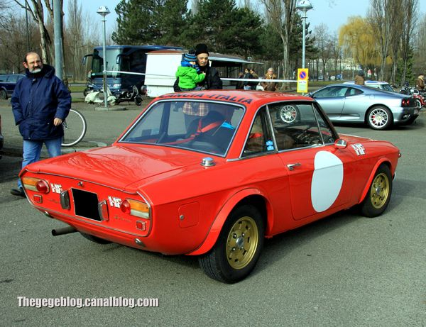 Lancia fulvia rallye 1