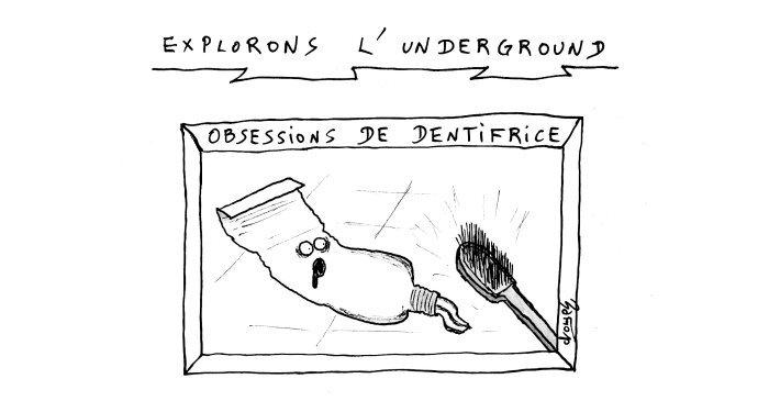 underground dentifrice