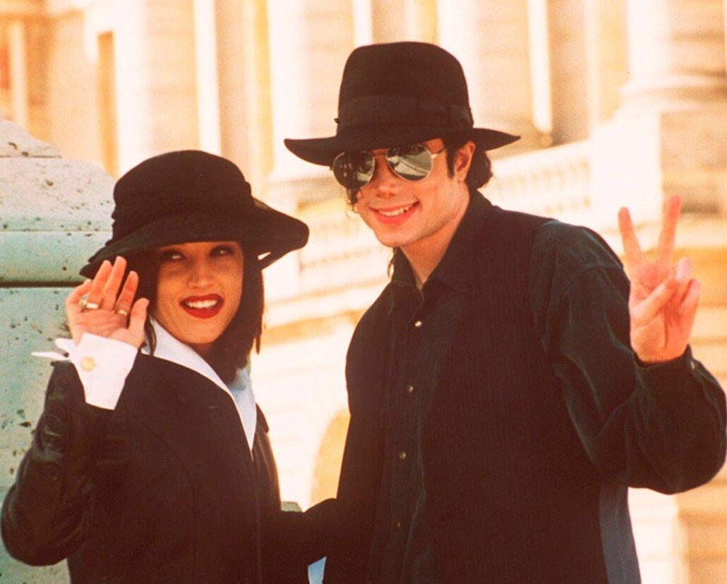 Michael Jackson au château de Versailles, le 05 septembre 1994