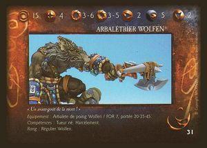 Arbalétrier Wolfen 03