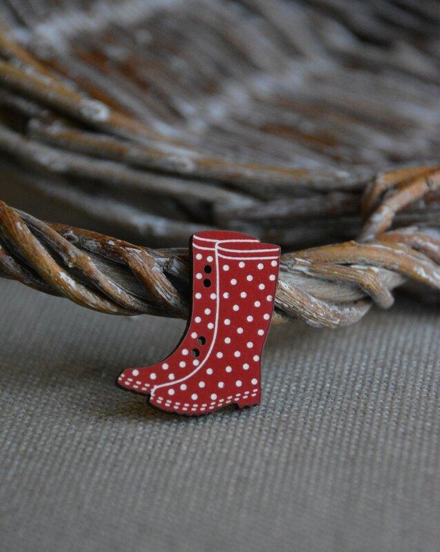 bottes rouge