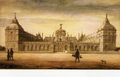 Richelieu chateau vers 1670 Lambert Doomer