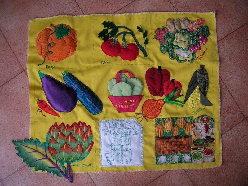 Hélène : les légumes