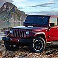 Édition altitude pour le jeep wrangler unlimited 2012 (cpa)