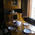 Salle à manger à La Grivelière