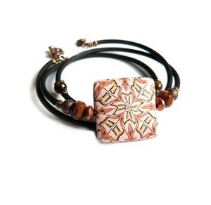 bracelet geom caramel