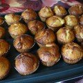 muffins abricots secs/chocolat blanc
