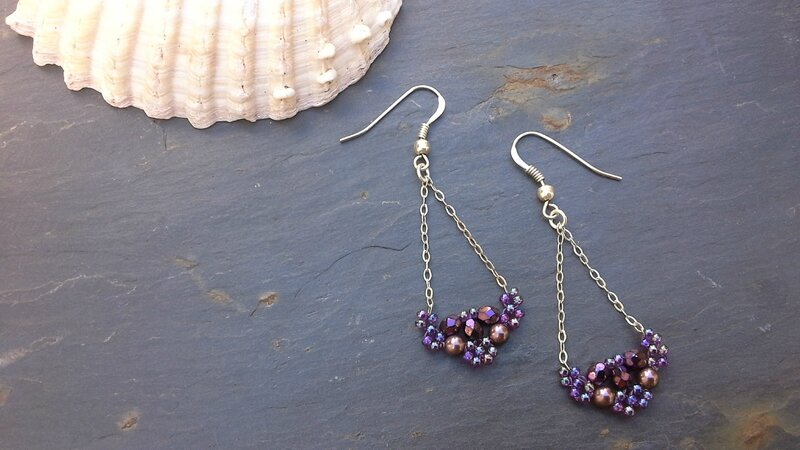 BO BEADED EARBOBS