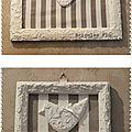 Cadre et oiseau en plâtre 3