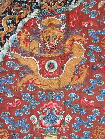 A_chestnut_silk_ground_embroidered_dragon_robea1