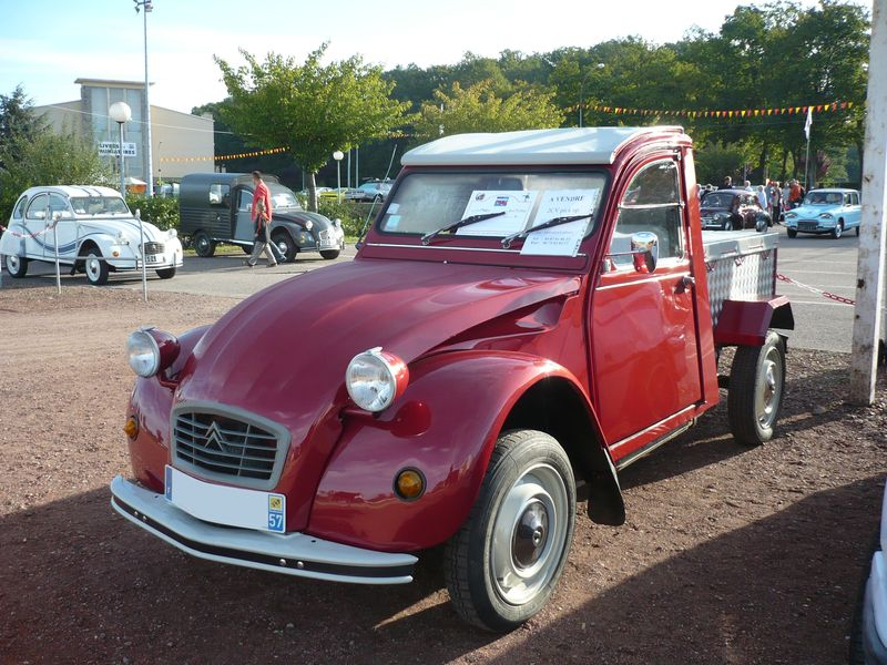 citro n 2cv pick up 1964 cr hange 1 photo de 039 18e bourse de cr hange le 12 septembre. Black Bedroom Furniture Sets. Home Design Ideas