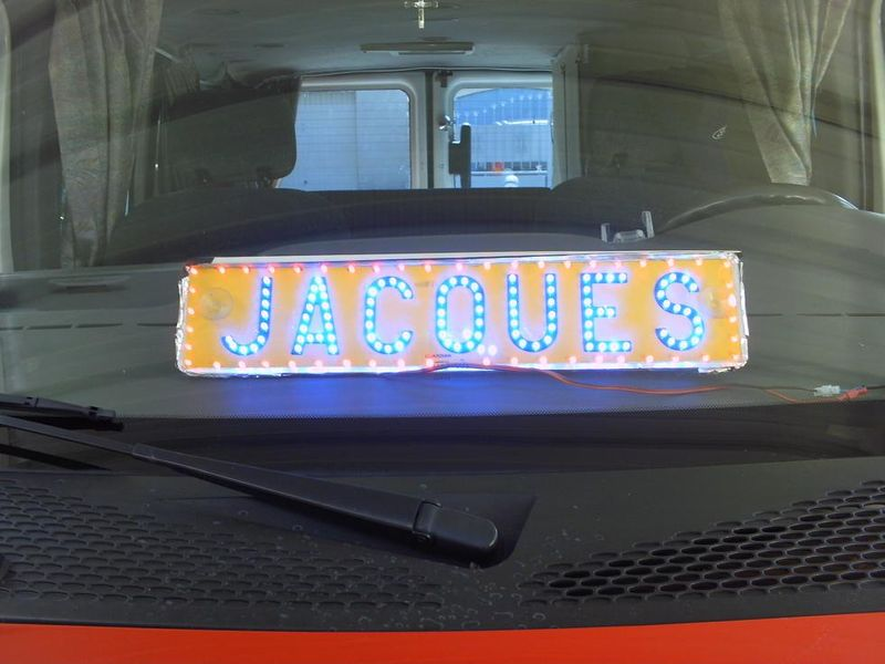 Decoration lumineuse pour camion for Decoration lumineuse