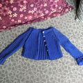 Un joli tricot de mimie joséphine à maggie...