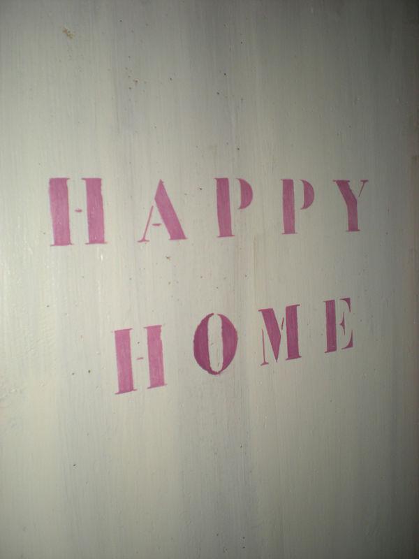 Dans ma maison, il y a ...