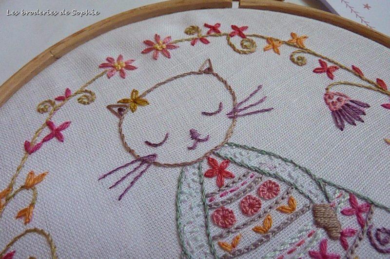 Violette la minette -un chat dans l'aiguille (3)