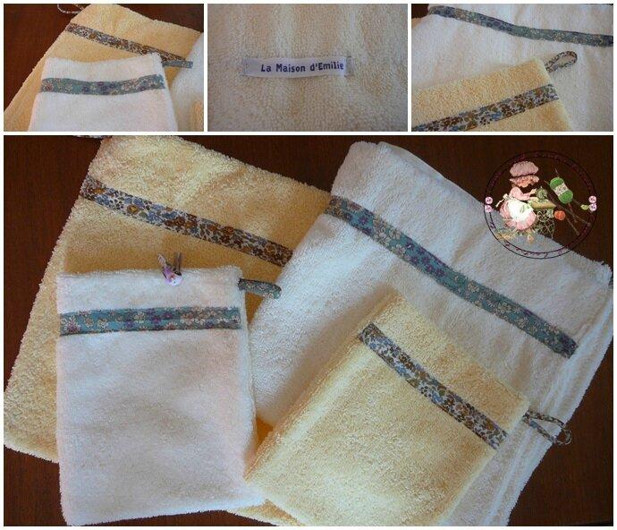 serviettes mamie