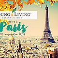 Young living débarque à paris