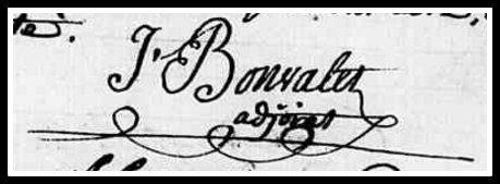 Bonvallet signature