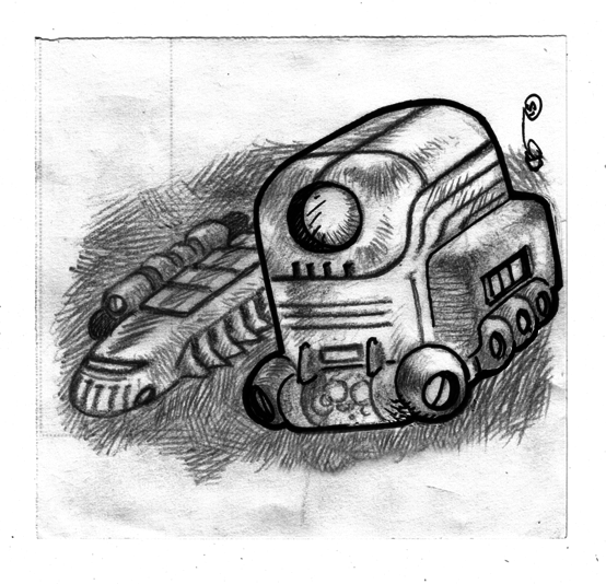 sketche-space-vehicules