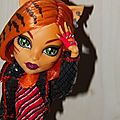 monster high : toralei vue de près