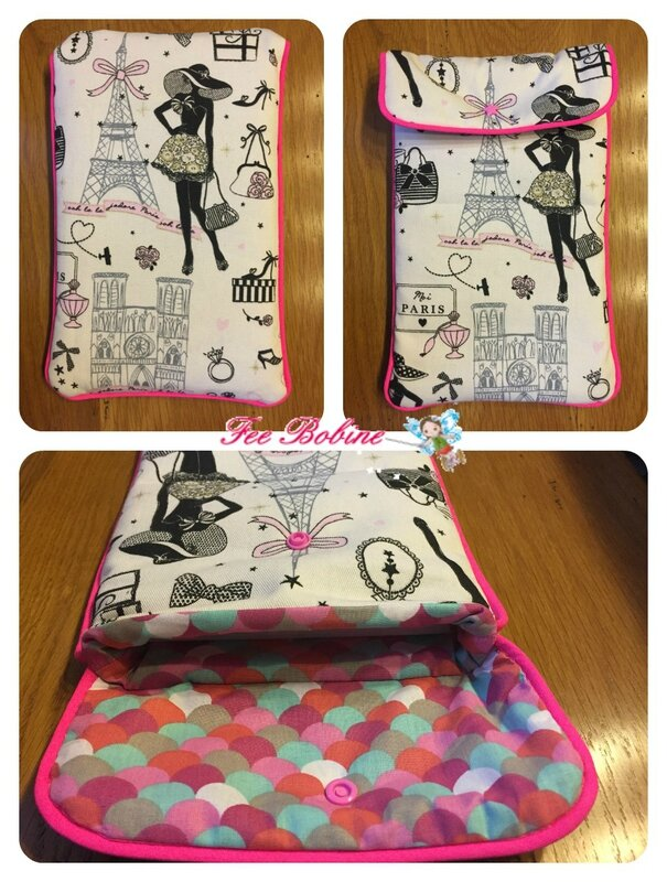 pochette ipad manou