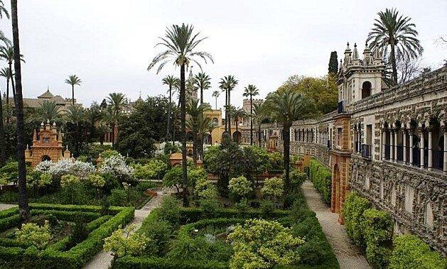 Les jardins de l 39 alcazar s ville jardins d 39 ailleurs - Jardines de sevilla ...